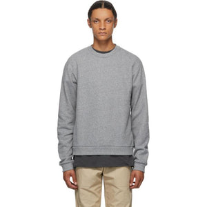 John Elliott Grey Beach Crew Sweatshirt