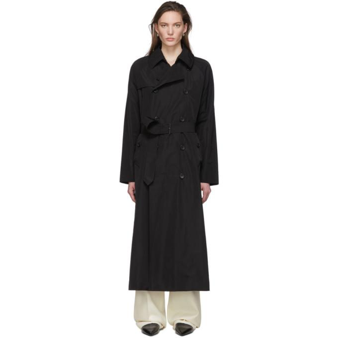 Julia Jentzsch Black Pearce Trench Coat