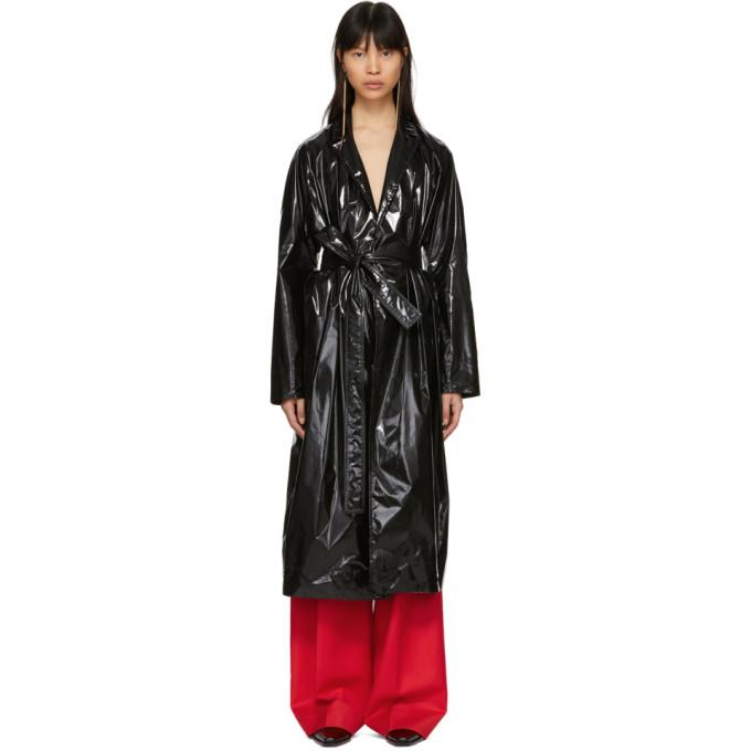 Kwaidan Editions Black Rubbish Coat-Jackets & Coats-BLACKSKINNY.COM