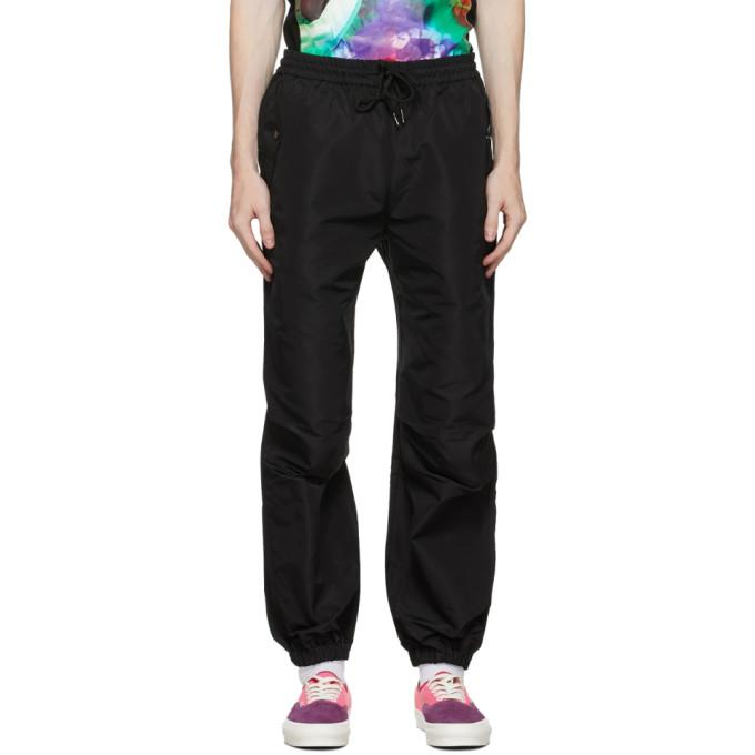 Landlord Black Cargo Lounge Pants