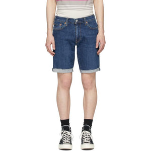 Levis Indigo 511 Slim Cut-Off Shorts