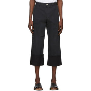 Loewe Navy Patch Pocket Trousers