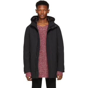 Mackage Black Faris Frost Touch Down Jacket-BlackSkinny