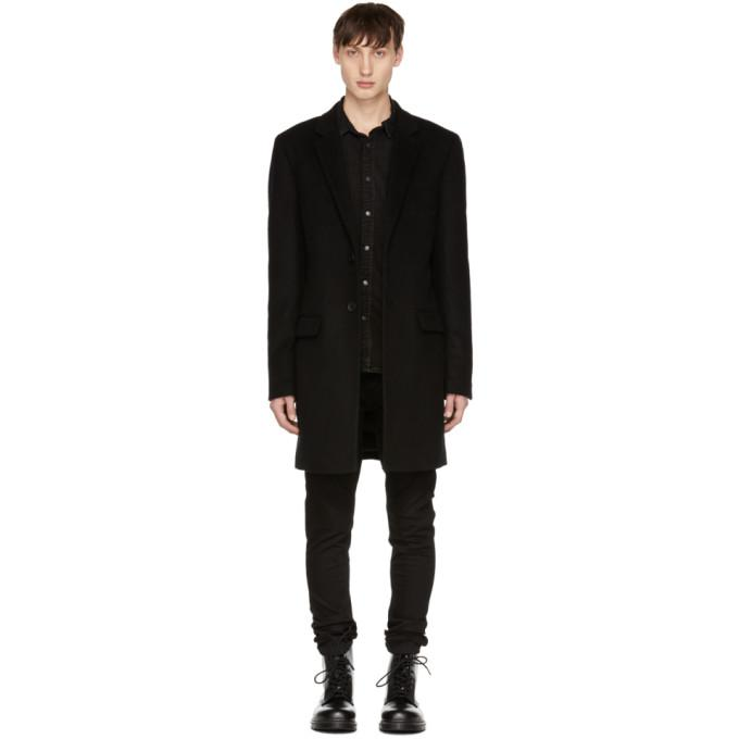 Mackage Black Skai Coat-BlackSkinny