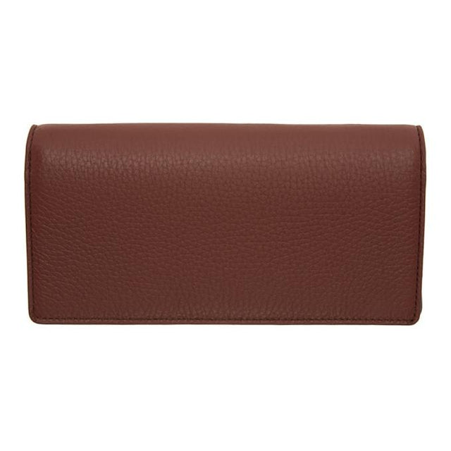 Maison Margiela Brown Bifold Travel Wallet