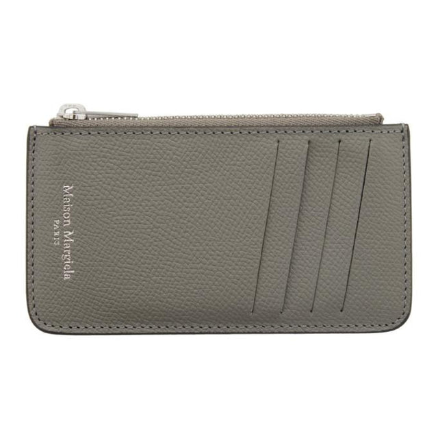 Maison Margiela SSENSE Exclusive Grey Coin Pouch Card Holder