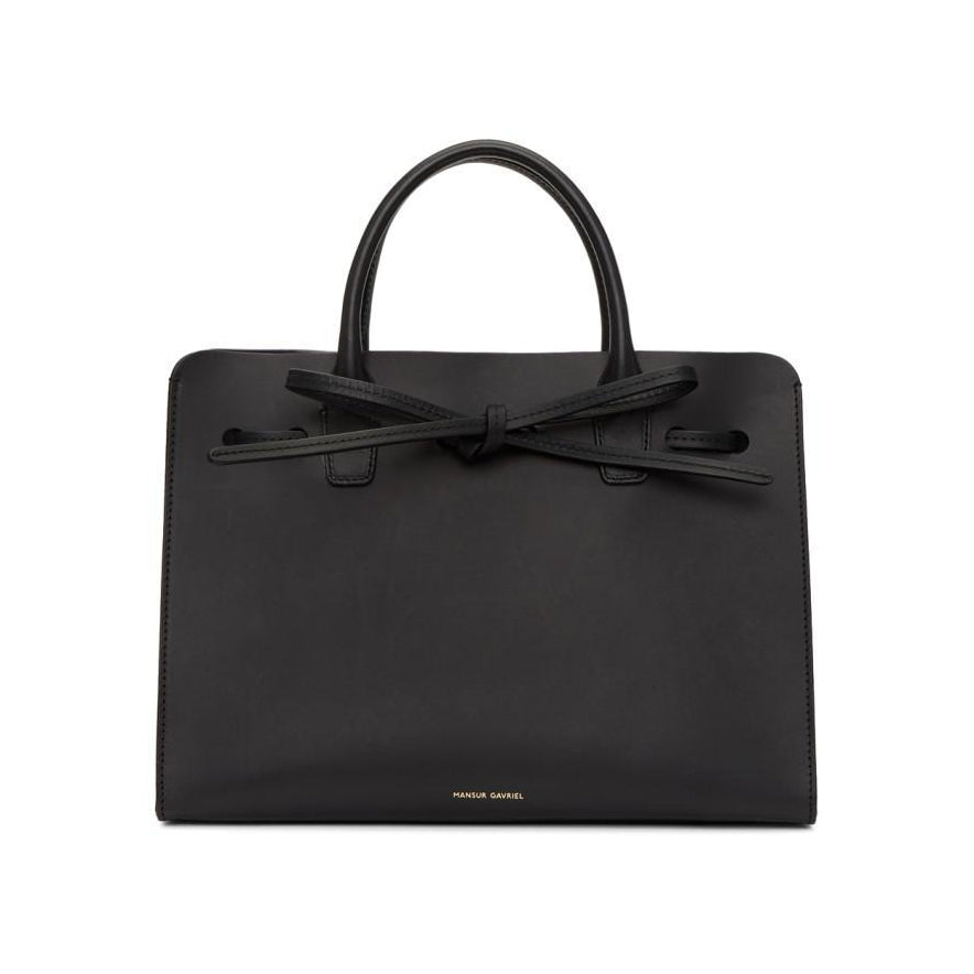 Mansur Gavriel Black Mini Sun Bag-Bags-BLACKSKINNY.COM