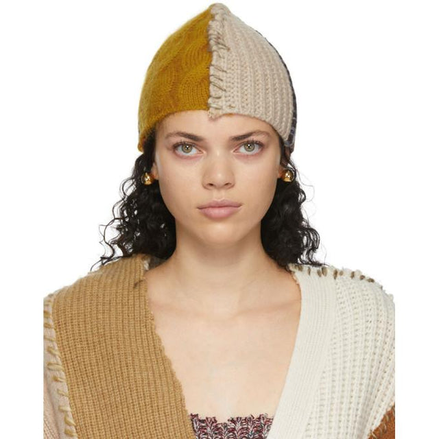 Marni Multicolor Patchwork Beanie