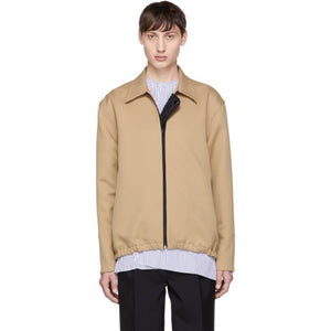 Marni Tan Collared Jacket-BlackSkinny
