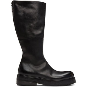 Marsell Black Zuccolona Zip-Up Boots