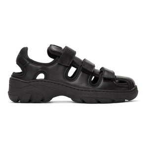 Martine Rose Black Hiking Sandals