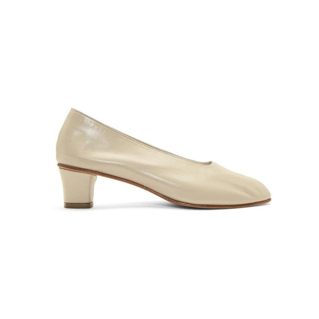 Martiniano Beige High Glove Heels-BLACKSKINNY.COM