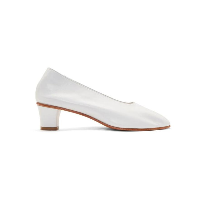 Martiniano White High Glove Heels-BLACKSKINNY.COM