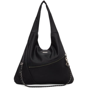 Master-Piece Co Black Knit Tote