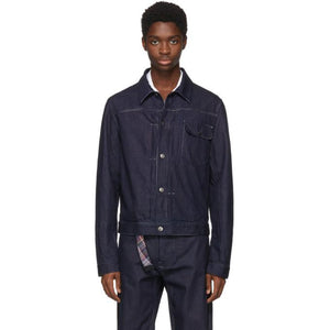 Missoni Blue Denim Trucker Jacket-BlackSkinny