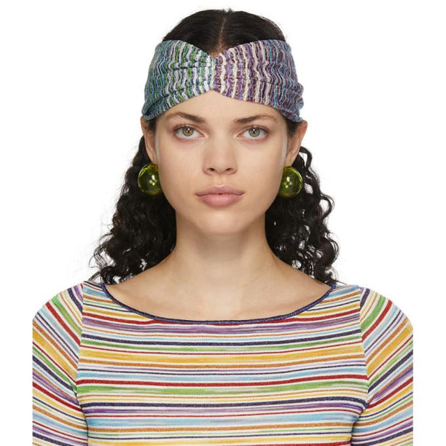 Missoni Multicolor Woven Headband
