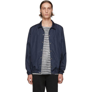 Missoni Navy Logo Windbreaker Jacket