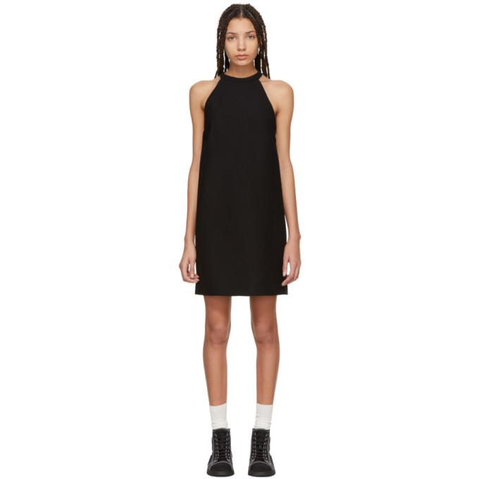Miu Miu Black Bow Dress-BLACKSKINNY.COM