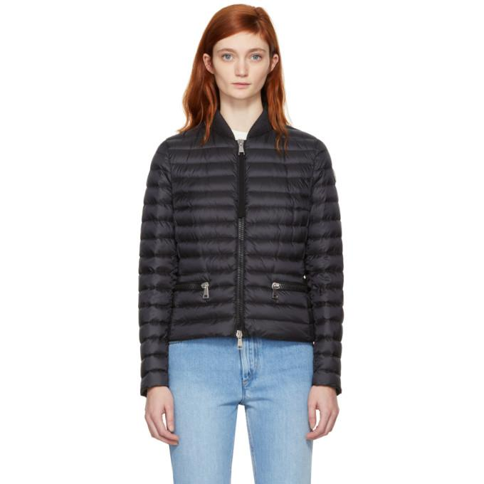 Moncler Black Down Blen Jacket-BlackSkinny