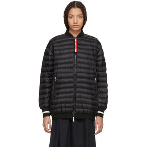 Moncler Black Down Charoite Jacket-BlackSkinny