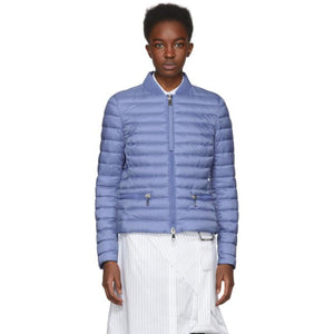 Moncler Blue Down Blen Jacket-BlackSkinny