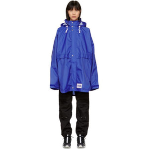 NAPA by Martine Rose Blue Rainforest OP Alpha Jacket-BlackSkinny