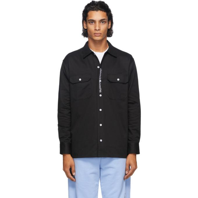 Noon Goons Black Johnny Workwear Shirt