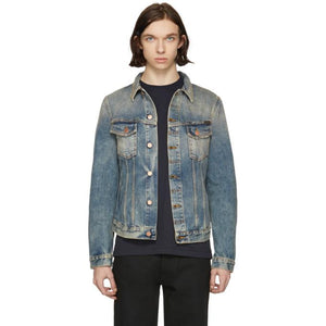 Nudie Jeans Indigo Denim Billy Shimmering Indigo Jacket-BlackSkinny