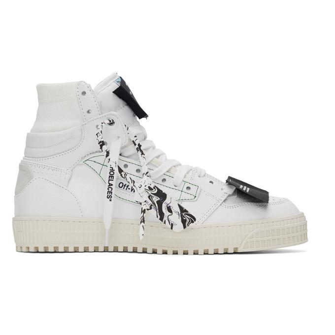Off-White White Off Court 3.0 High-Top Sneakers