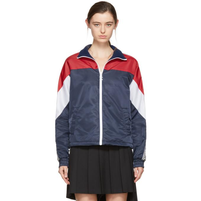 Opening Ceremony Navy Limited Edition Warm Up Jacket-BlackSkinny