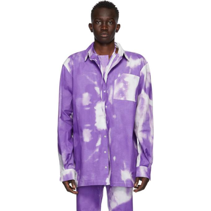 Ottolinger Purple Oversized Cloud Shirt