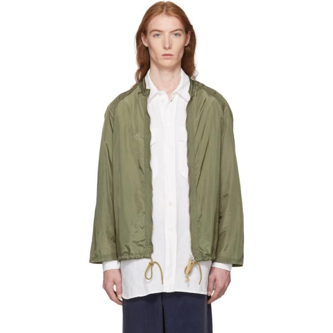 Our Legacy Green Para Sail Jacket-BlackSkinny