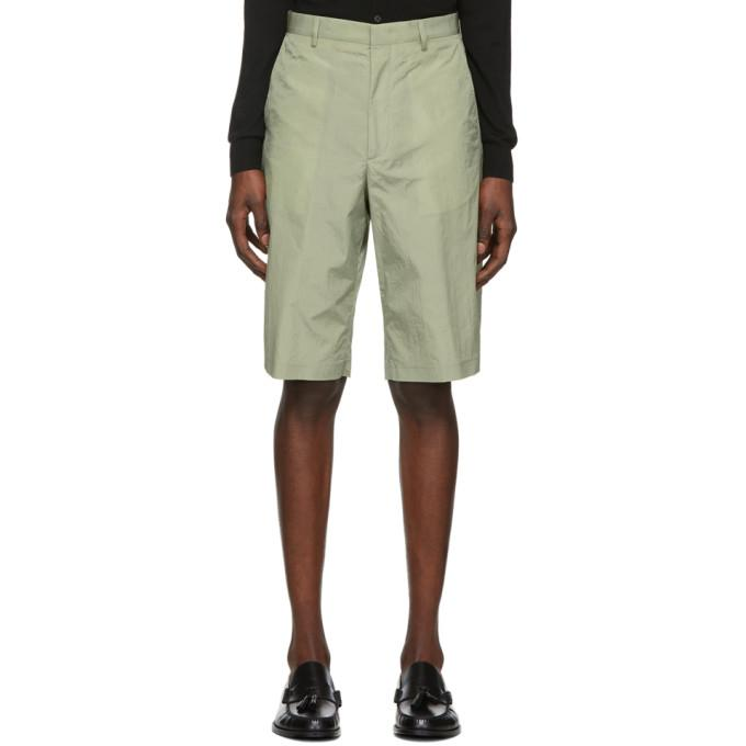 Paul Smith Green Oversize Show Shorts