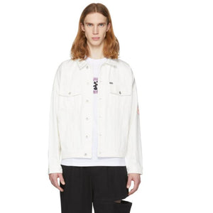 Perks and Mini White Perspective Denim Jacket-BlackSkinny