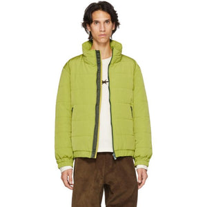 Phipps Green Puffer Jacket-BlackSkinny