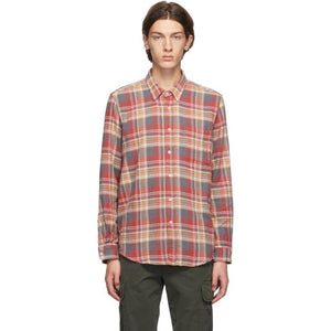 PRESIDENTs Red Flannel Chatham Shirt