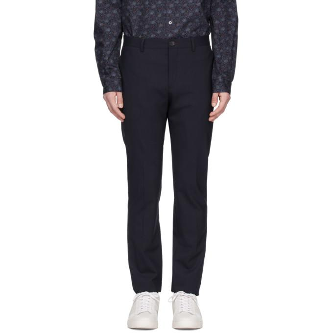PS by Paul Smith Navy Slim Trousers