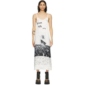 R13 Off-White Anton Corbijn Edition U2 Belgium Dress