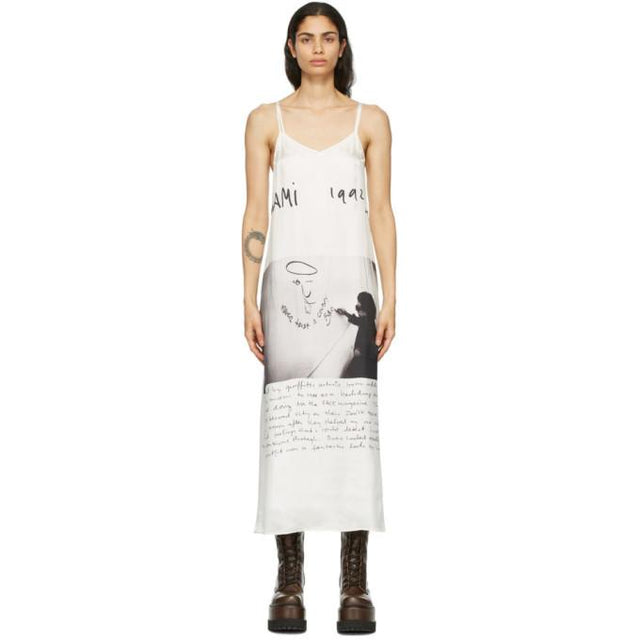 R13 Off-White Anton Corbijn Edition U2 Miami Dress