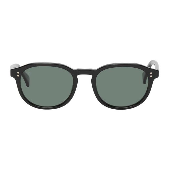 RAEN Black Rollo 51 Sunglasses