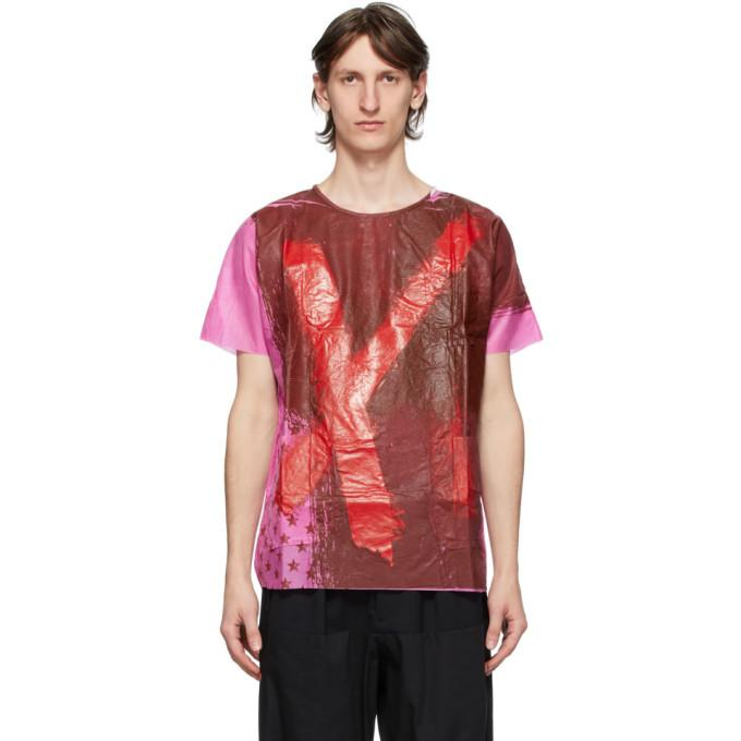 Raf Simons Multicolor Tyvek Hand-Painted Hospital Top