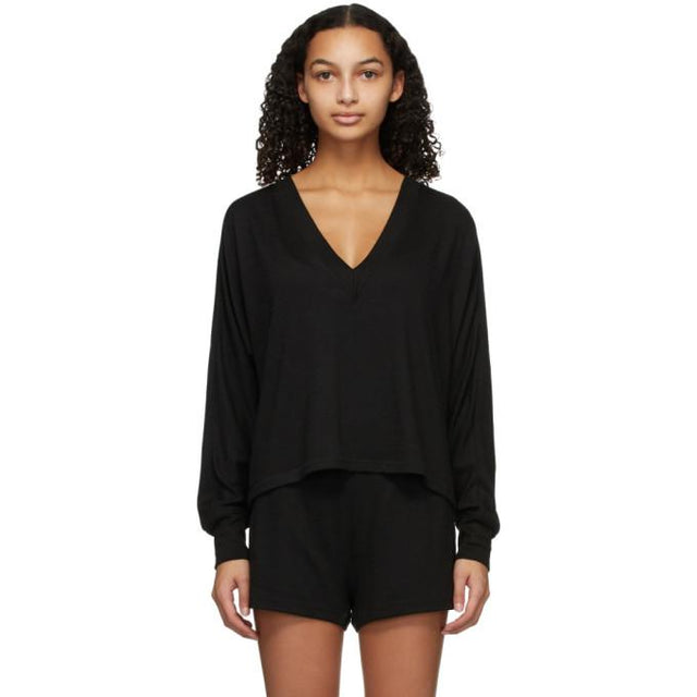 rag and bone Black Knit Lounge Set