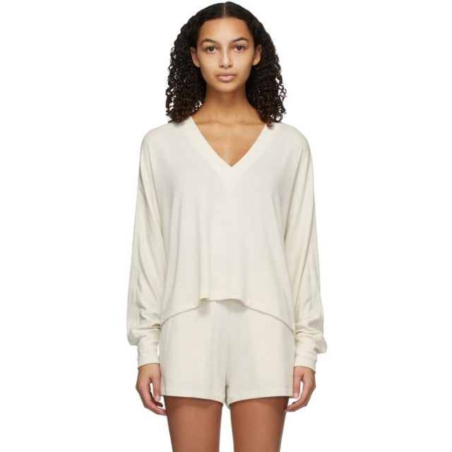 rag and bone Off-White Knit Lounge Set