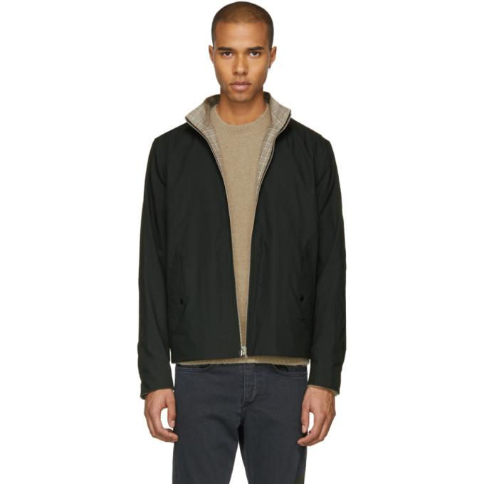 Rag & Bone Reversible Black Harrington Jacket-BlackSkinny