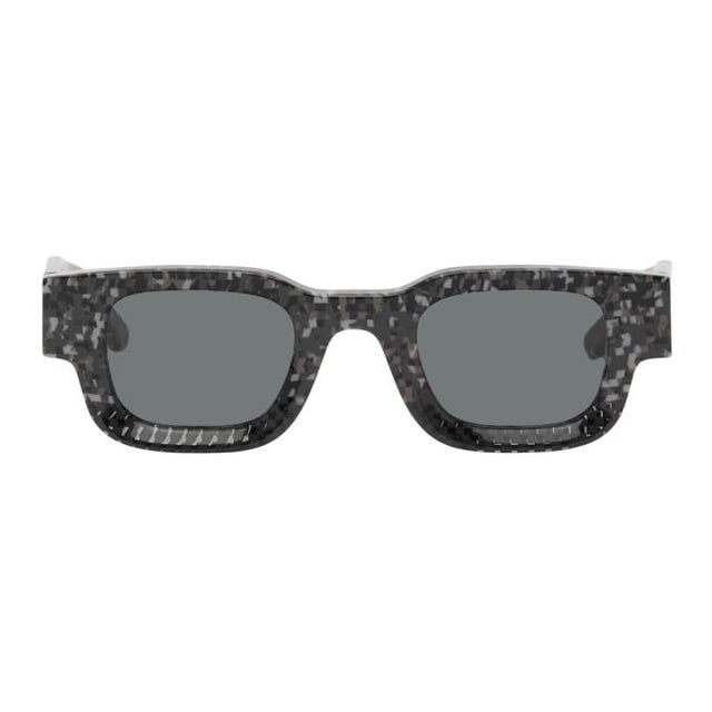 Rhude Black and Grey Thierry Lasry Edition Rhevision 668 Sunglasses