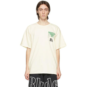 Rhude Off-White Box Perspective T-Shirt