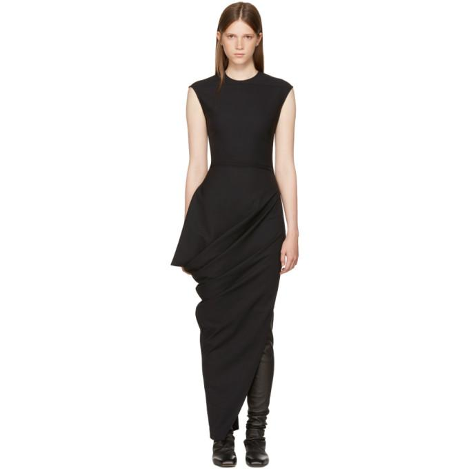 Rick Owens Black Walrus Dress-BLACKSKINNY.COM