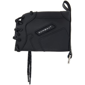 Rombaut Black Faux-Leather Boccaccio Sneaker Wallet