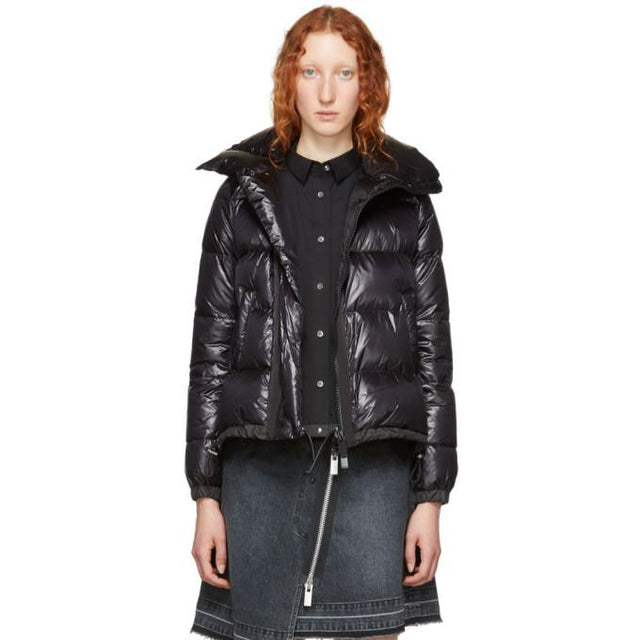 Sacai Black Down Jacket-BlackSkinny