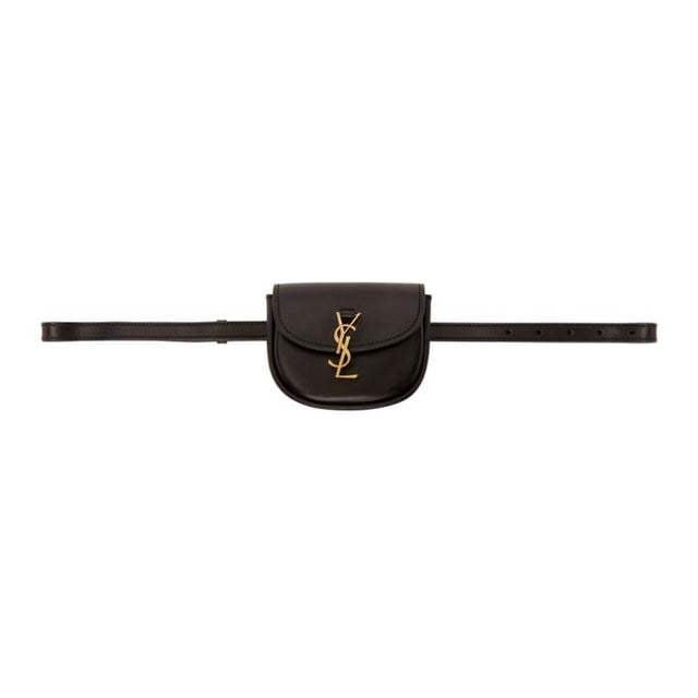 Saint Laurent Black Kaia Belt Bag
